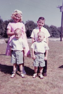 Then I was a big sister to 3 brothers (2 were twins)...