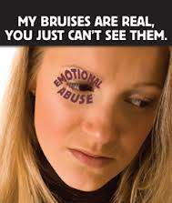 Emotional abuse - broken spirit, invisible scars