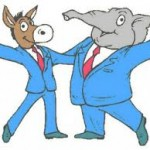 picture-republican democrat cartoon characters