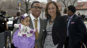 Ray & Janay RIce with their daughter - Time to Move Forward
