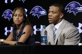 Janay and Ray Rice media interview