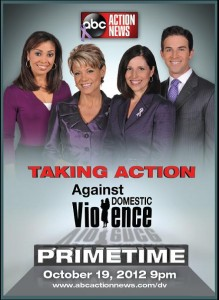 "Emmy nominated ""Taking Action Against Domestic Violence"""
