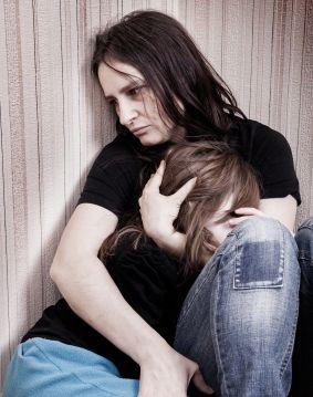 Fear and domestic violence affect the children, too.